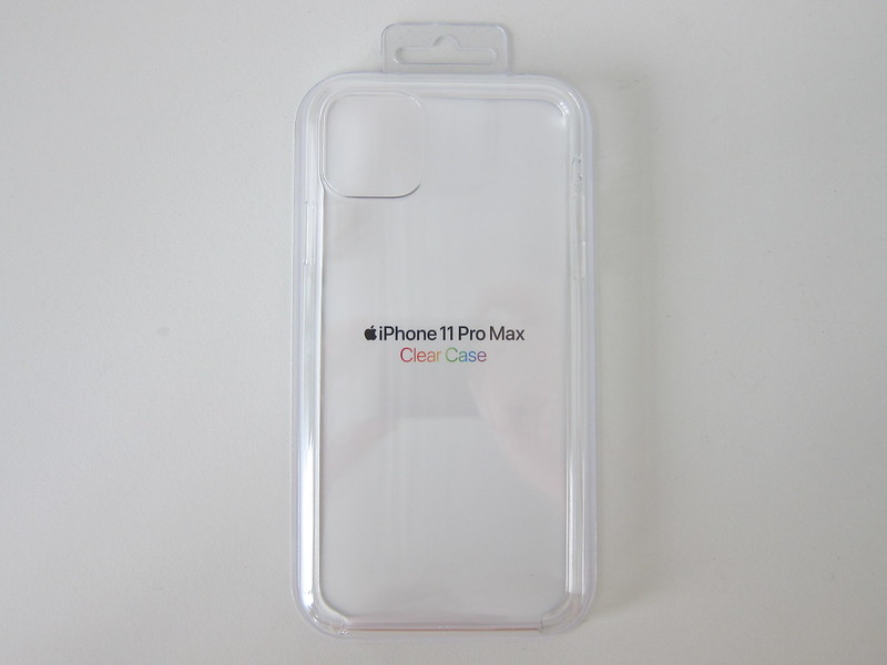 Apple iPhone 11 Pro Max Clear Case - Packaging Front