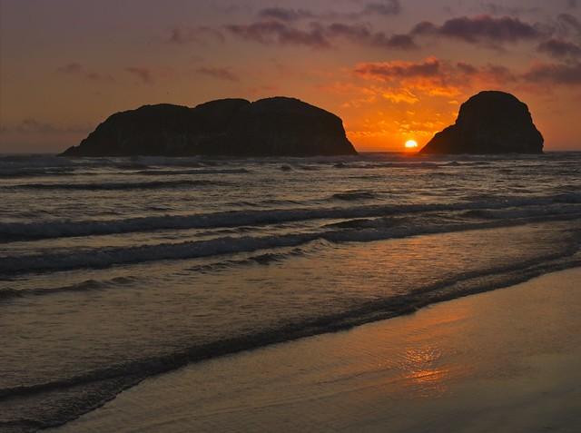 Cannon Beach Sunset 9866 A