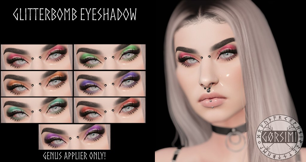 – Gorsimi – Glitterbomb Eyeshadow (GENUS)