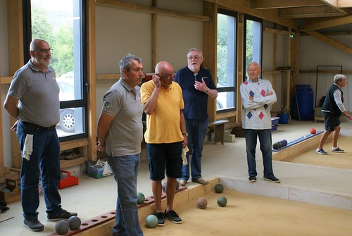21/09/2019 - Plougasnou : Concours de boules plombées en triplette formée
