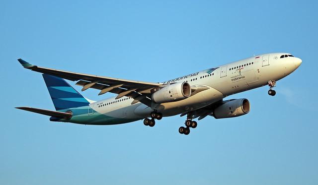 PK-GPS EGLL 16-07-2019 Garuda Indonesia Airbus A330-243 CN 1474