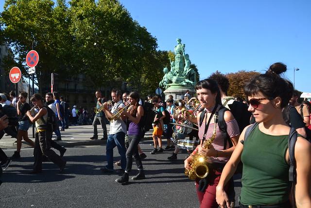 marche pour le climat du 21 septembre 2019 à Paris