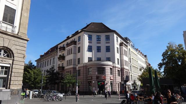 1913 Berlin Mietswohnhaus 5Et. von Arthur Vogdt Richardstraße Ganghoferstraße 1 in 12043 Neukölln