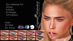 """Lupus Femina"" Eye Makeup 10 Colours"