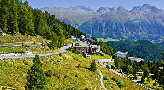 Picturesque villages of Switzerland