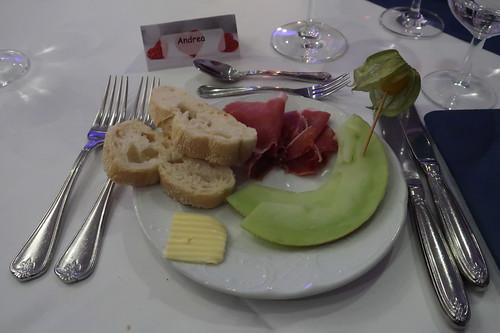 Parmaschinken mit Melone
