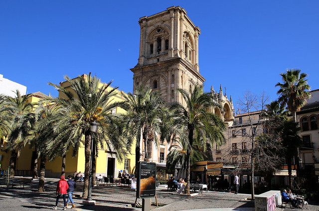 The first stone of the Cathedral of Granada was placed in 1523