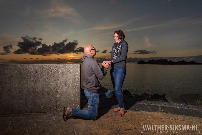 Huwelijksaanzoek tijdens The Real Trip 2019 in Makkum