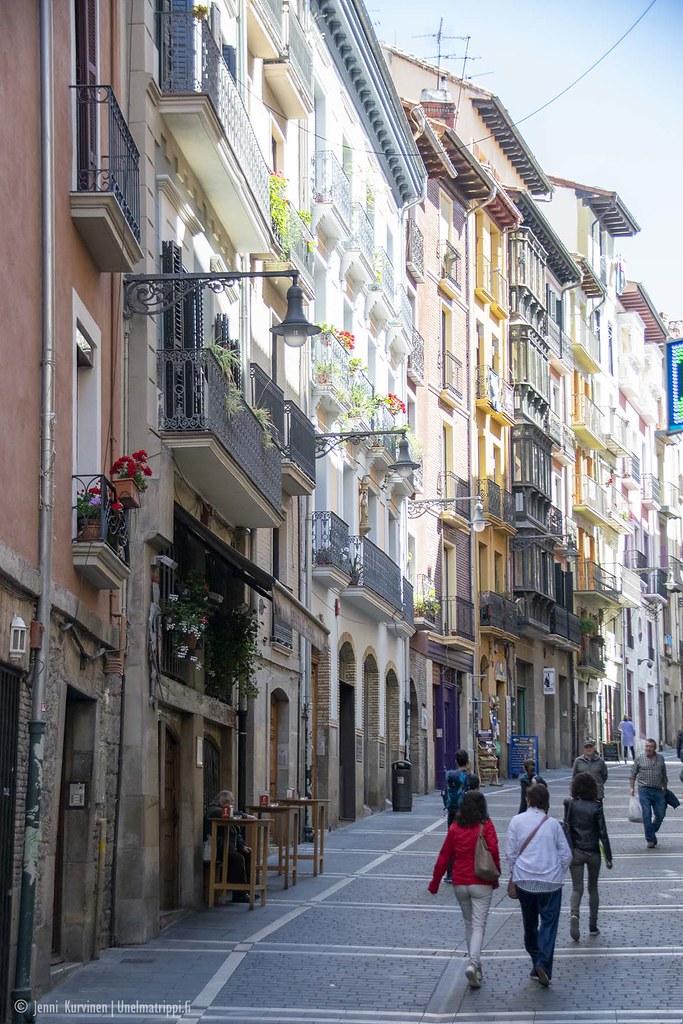 Pamplonan katukuvaa