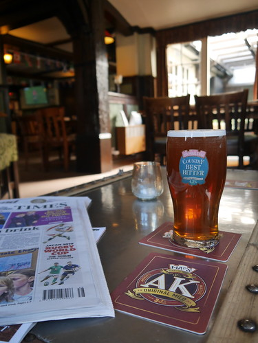 Country Bitter at the Crown, Waltham Abbey