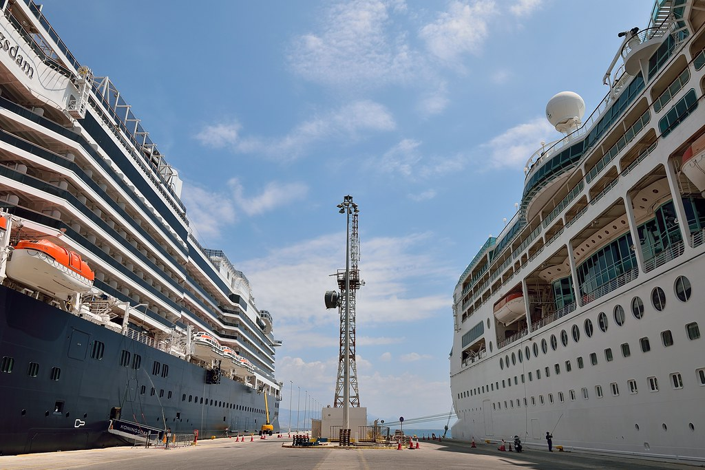 High Rise Cruise ships in Port | Corfu cruise port | 35mmMan | Flickr