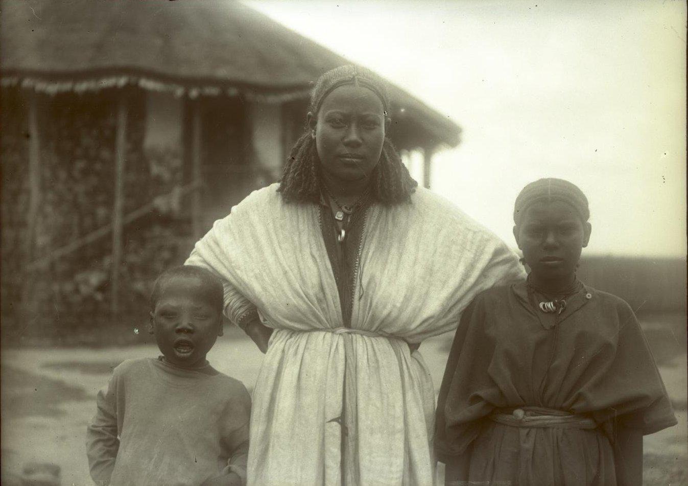 375. 1899. Абиссиния, Аддис-Абеба. Жена Гано