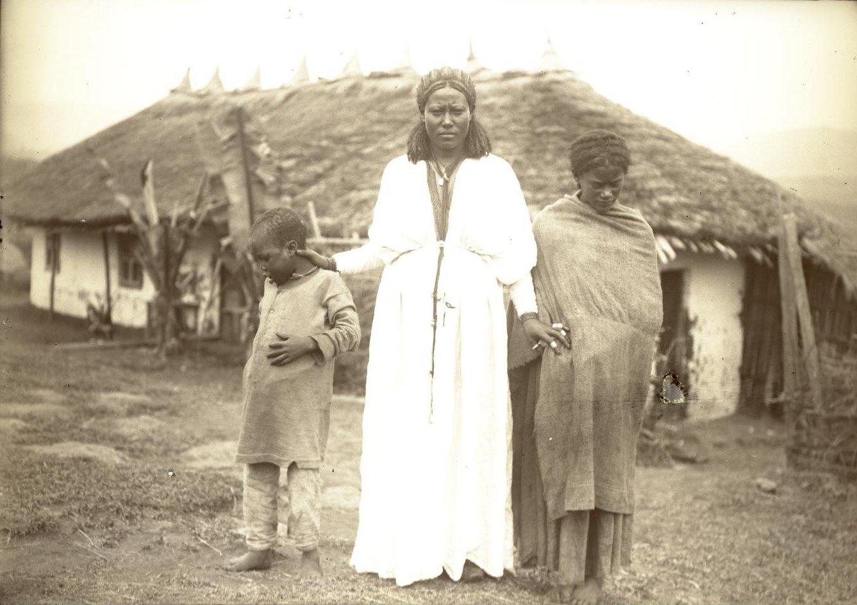 374. 1899. Абиссиния, Аддис-Абеба. Жена Гано