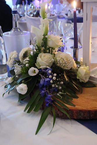 Blumengesteck (Tischdekoration)