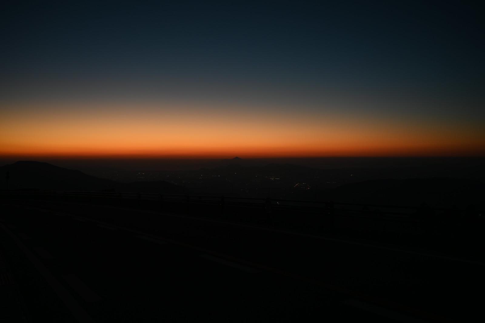 阿蘇山上から見る普賢岳 / Mount Fugendake from Mount Aso