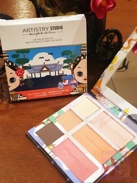 Amway Artistry Studio Bangkok Edition On the Go Palette