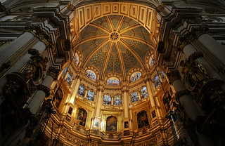 Admire the Gothic style of the Royal Chapel of Granada Cathedral