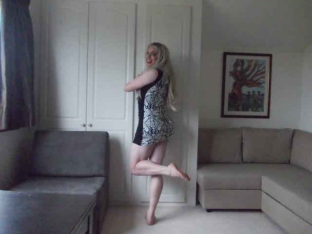 Patterned Mini-Dress 2