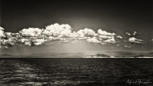Clouds Over Athos