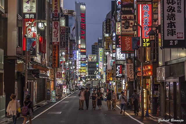 Por las calles de Shinjuku - Tokio