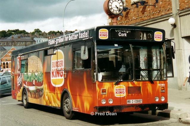 Bus Eireann KC160 (89D10662).