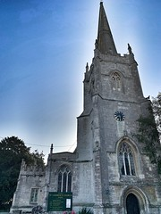 Lechlade Church, Cotswolds, England