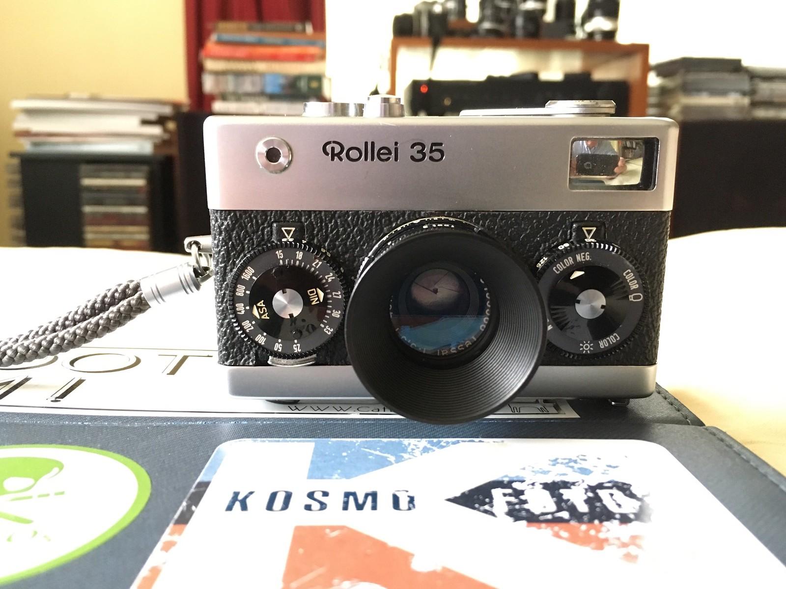 My Rollei 35.