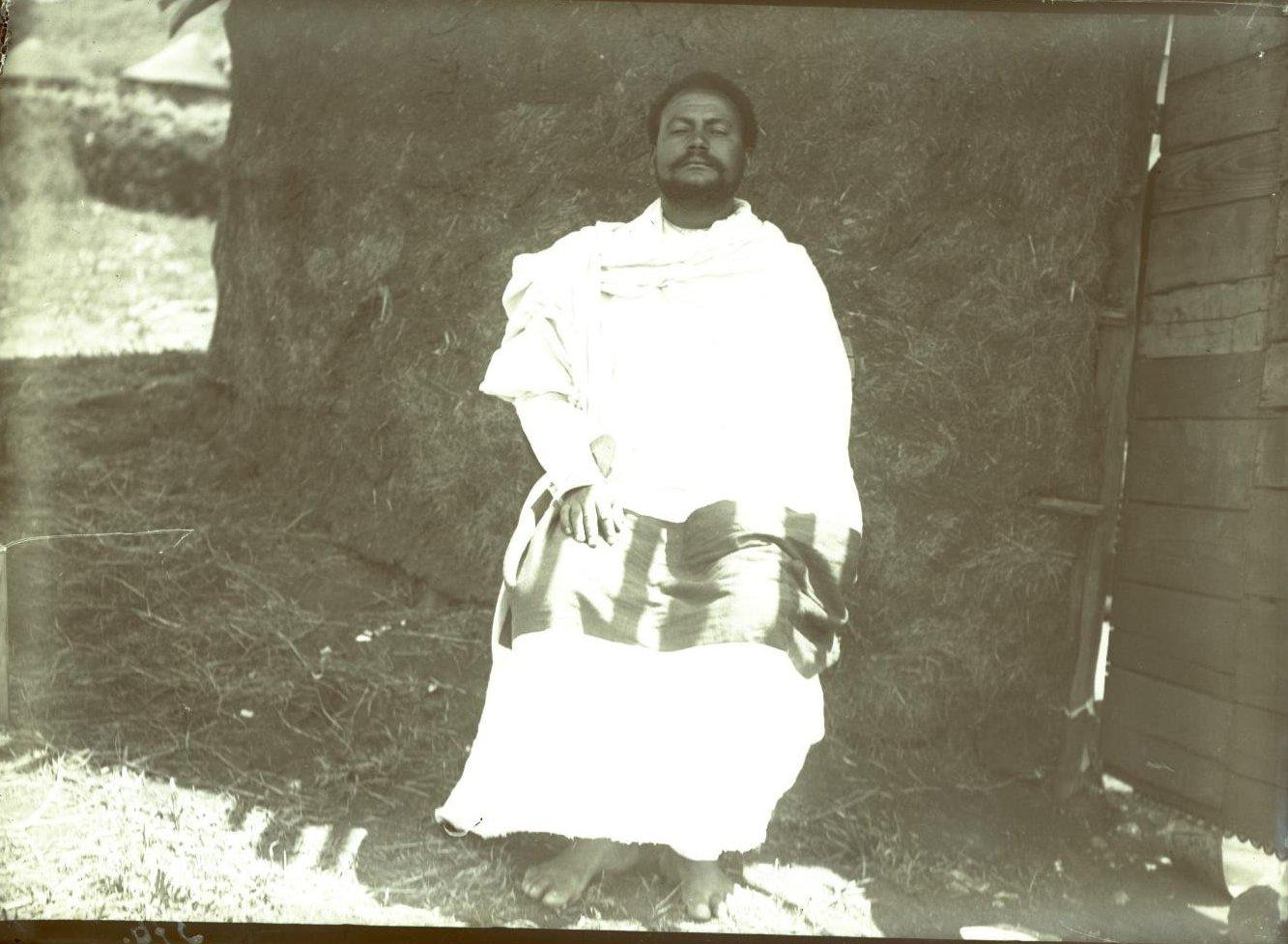 376. 1899. Абиссиния, Аддис-Абеба. Ато (господин) Мацфен