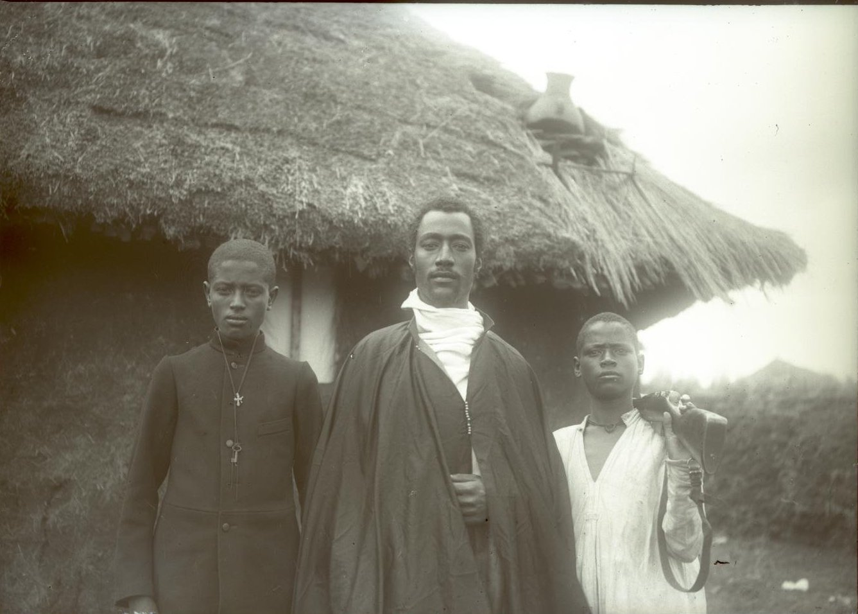 372. 1899. Абиссиния, Аддис-Абеба. Господин Гано, Тэфэра и ашкер