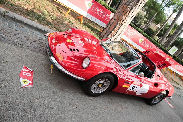 Ferrari Cavalcade Classiche 2019 - Villa Borghese Roma (2)