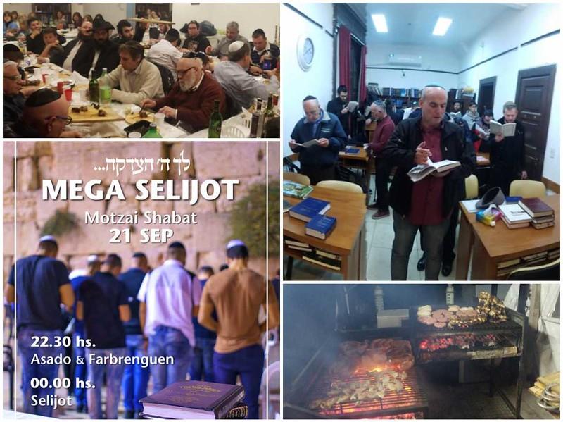 Mega selijot en Beit Levi Itzjak Belgrano