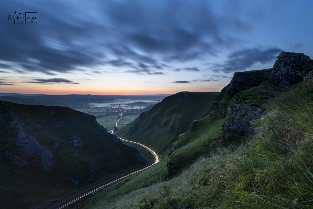 Pre dawn at the pass.