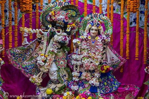 ISKCON Vrindavan Deity Darshan 22 Sep 2019