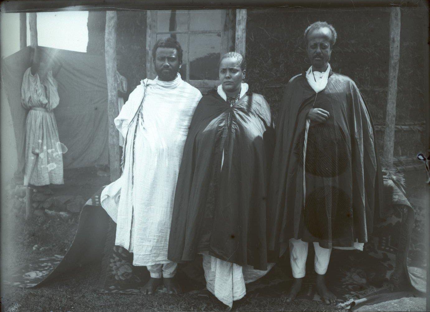 368. 1899. Абиссиния, Аддис-Абеба. Рас Тассама Дарги с женой