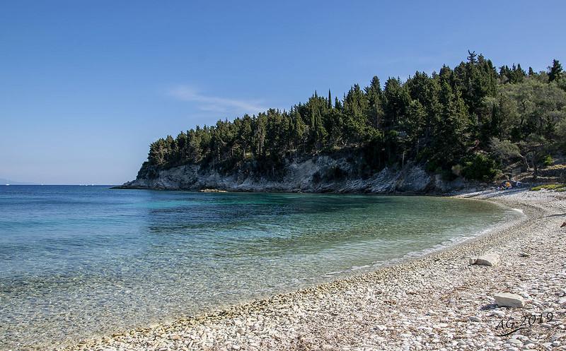 Kipos Beach, Paxos, Greece