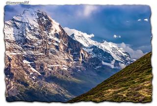 Wengen - Jungfrau - Silbermulde - Eiger et Silberhorn
