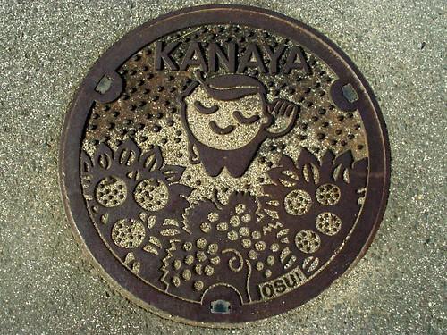 Kanaya Wakayama, manhole cover (和歌山県金屋町のマンホール2)