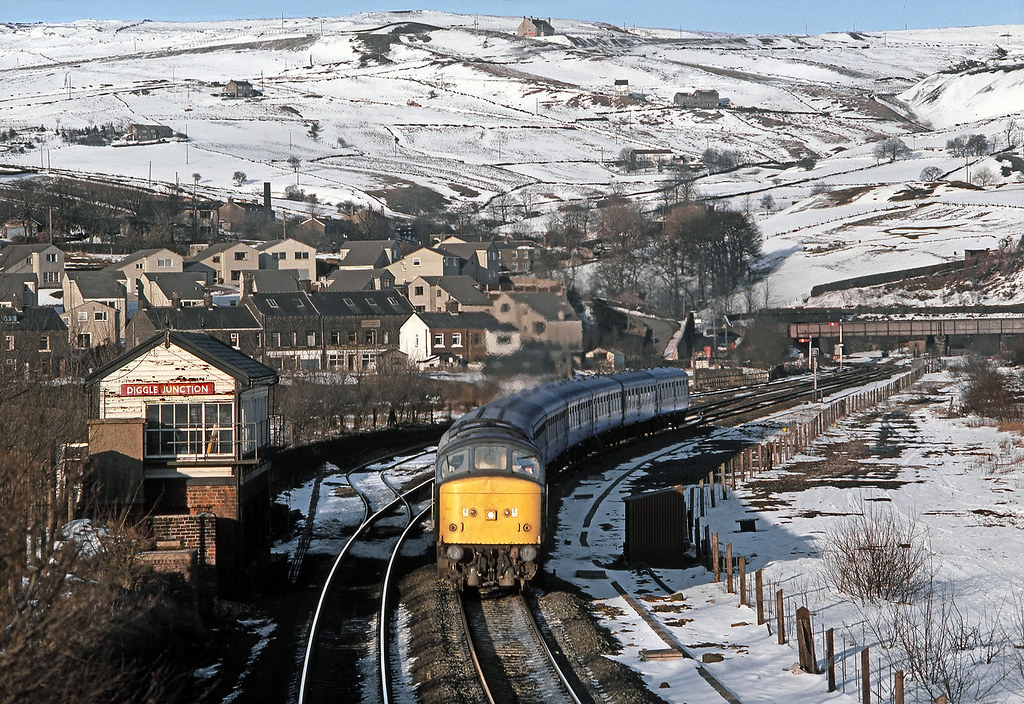 Winter in the Pennines.