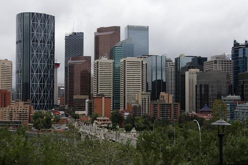 calgary stadt architektur kanada gebäude innenstadt hochhäuser city canada skyline architecture skyscraper buildings downtown alberta