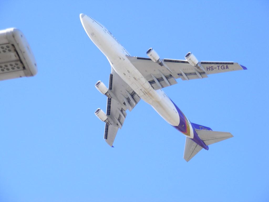 Thai Airways 747-200
