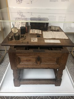 Money changers desk