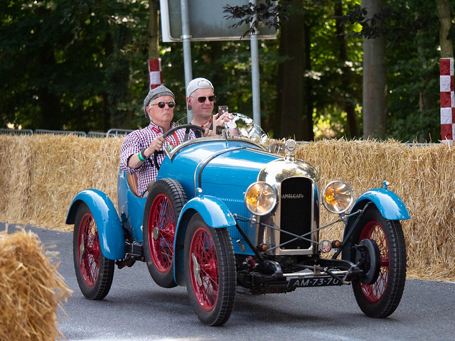 Oldtimer with GPS