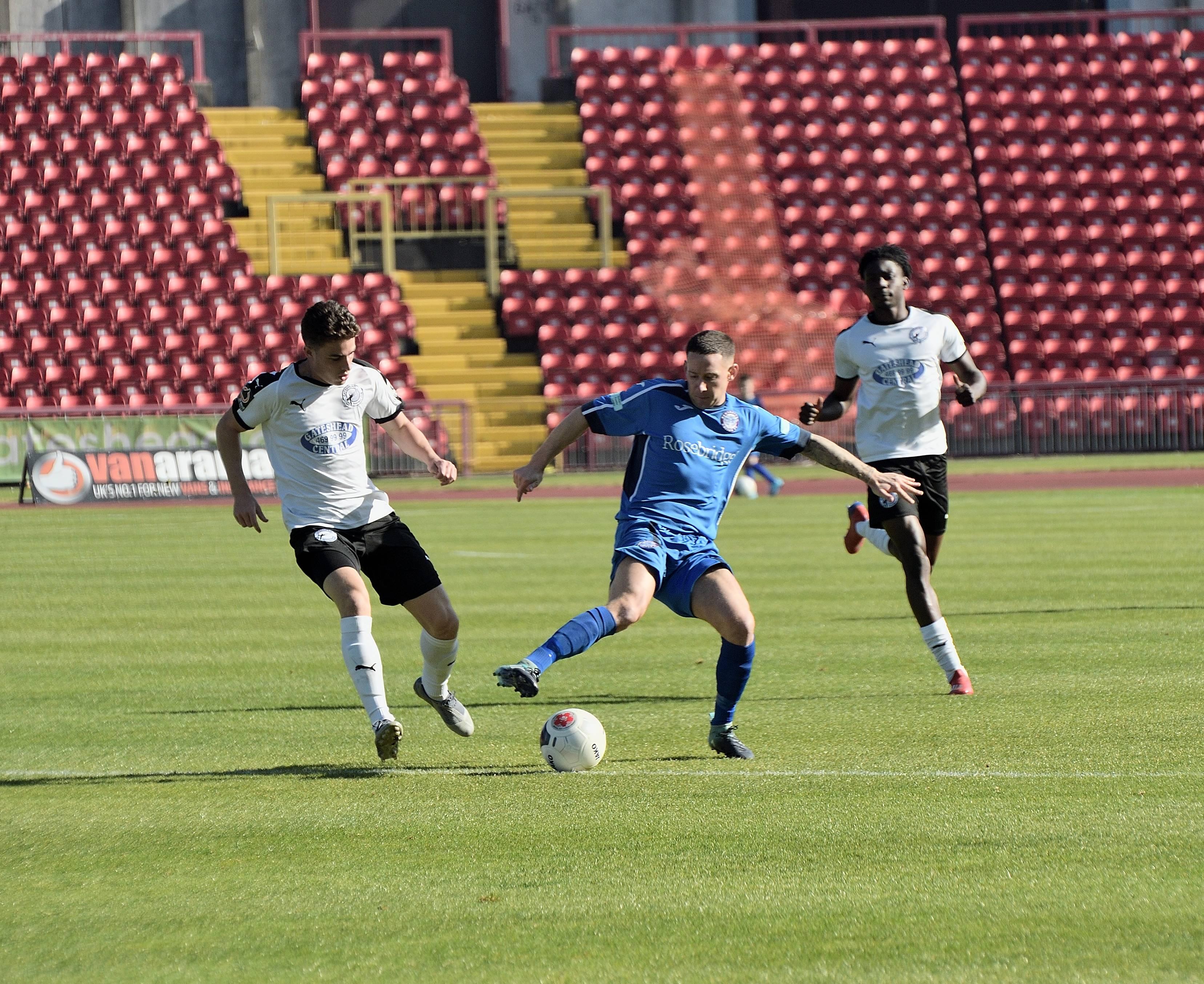 Gateshead 6 Rams 0 - Match Action
