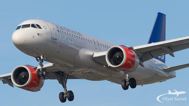 LHR - SAS Airbus A320neo EI-SIC