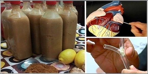 Natural Drink That Will Cleanse Your Blood Vessels Straight To The Heart!