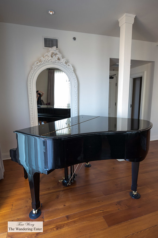 Grand piano in Cityscape Penthouse