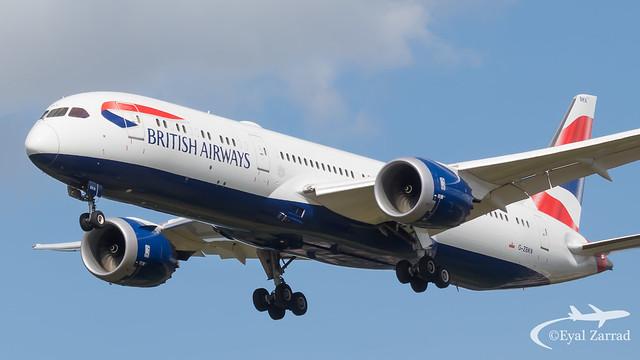 LHR - British Airways Boeing 787-9 G-ZBKN