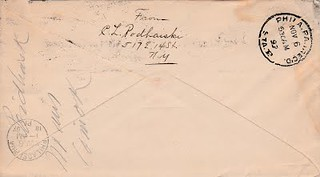IPodhaiski, C.L. 1897 letter to Chapmans back
