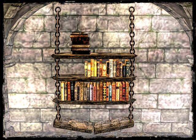 ~*SR*~ Rustic Bookshelf 4 rack`s broken_001