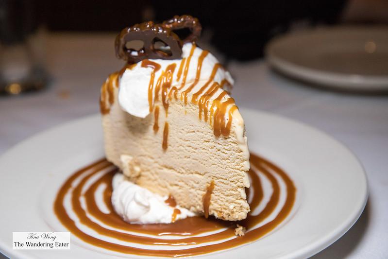 Malted ice cream pie